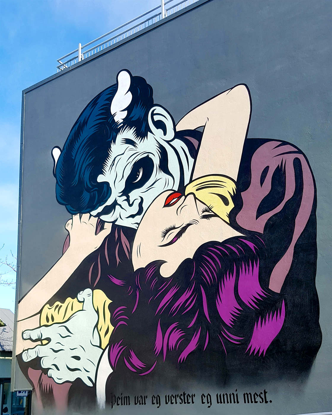 Street Art in Iceland - Walking through the streets of Reykjavik