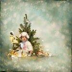 С рождеством(скрап набор)