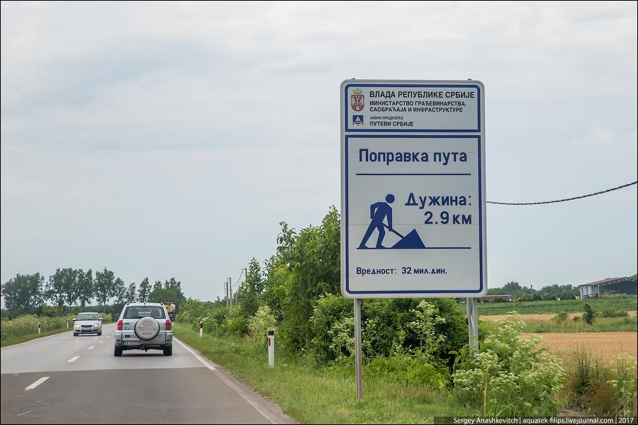 Сербские дороги