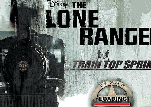 Одиноки Рейнджер бег по поезду игра для винкс