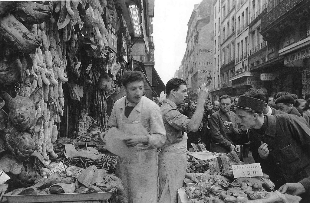Paris, 1940- 1950, by Robert Doisneau