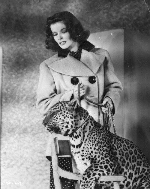 Katharine Hepburn Bringing up Baby (1938)
