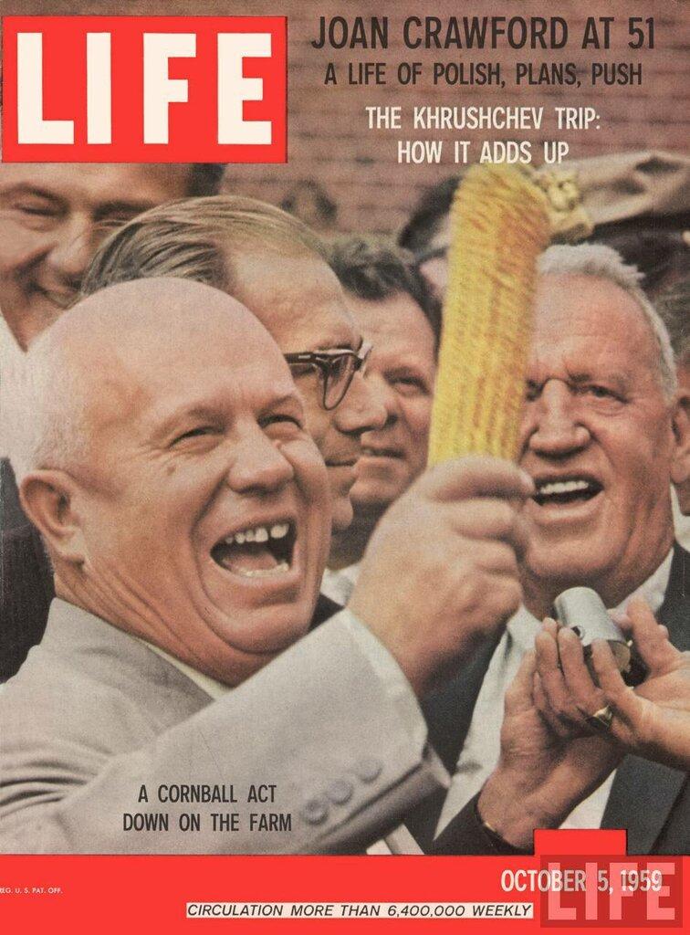 Life Magazine, October 5, 1959 - Krushchev in U.S.