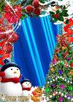 Новогодние мобильные анимации_240x400