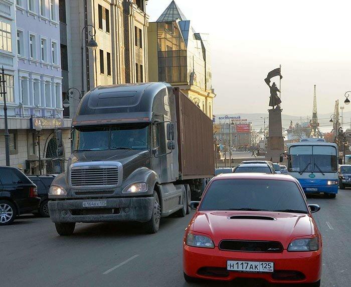 Улицы Владивостока