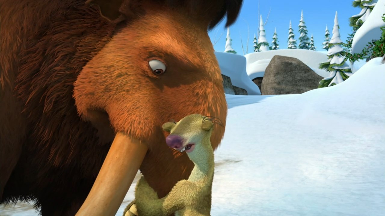Ice age mammoths family