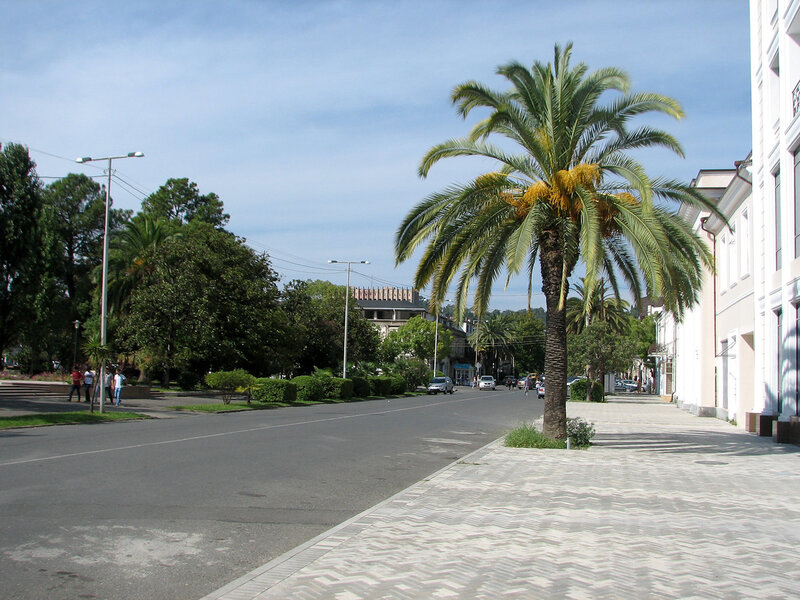Сухум сентябрь 2011