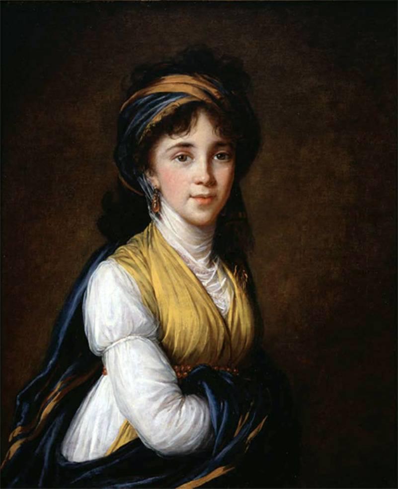Портрет княгини Белозерской, 1798.