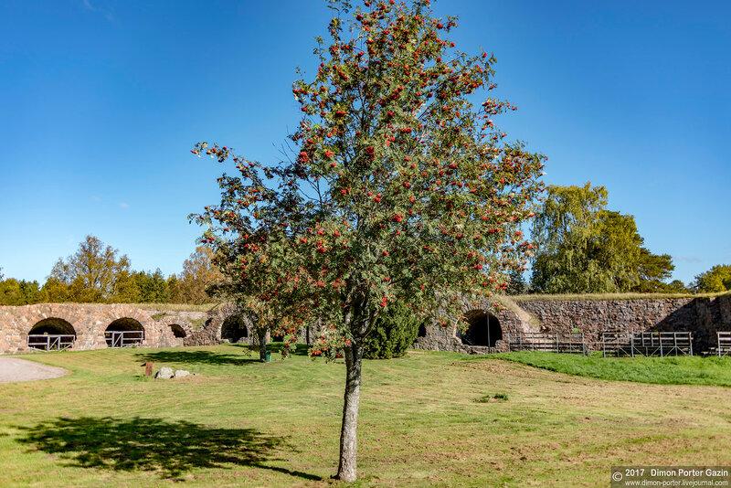 Ловииса. Бастионы Розен и Унгерн