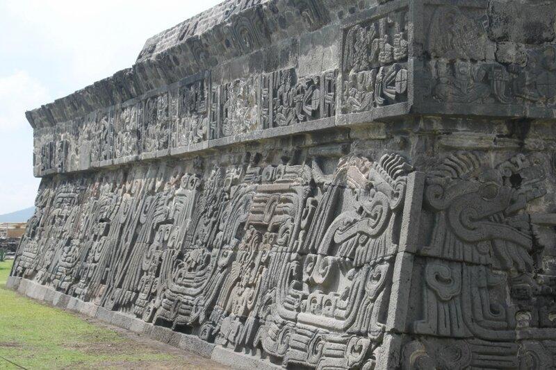 Мексика, храм Пернатого змея
