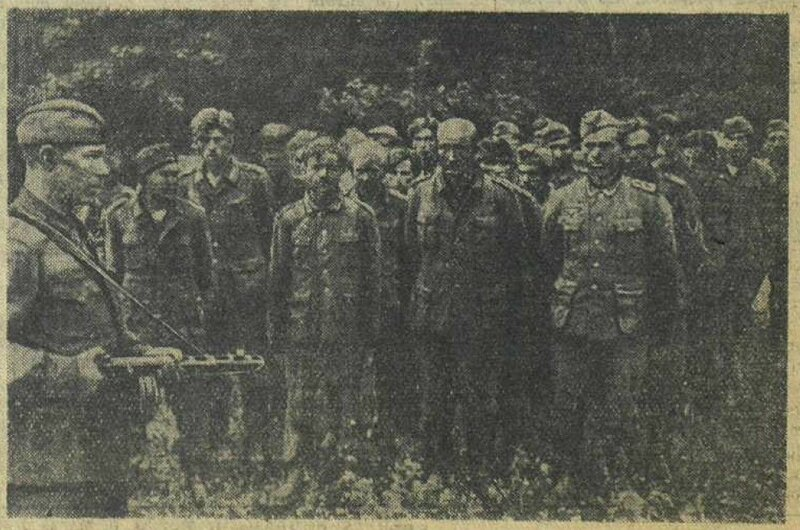«Красная звезда», 19 июля 1942 года, пленные немцы, немецкие военнопленные, немцы в плену, немцы в советском плену, немецкий солдат