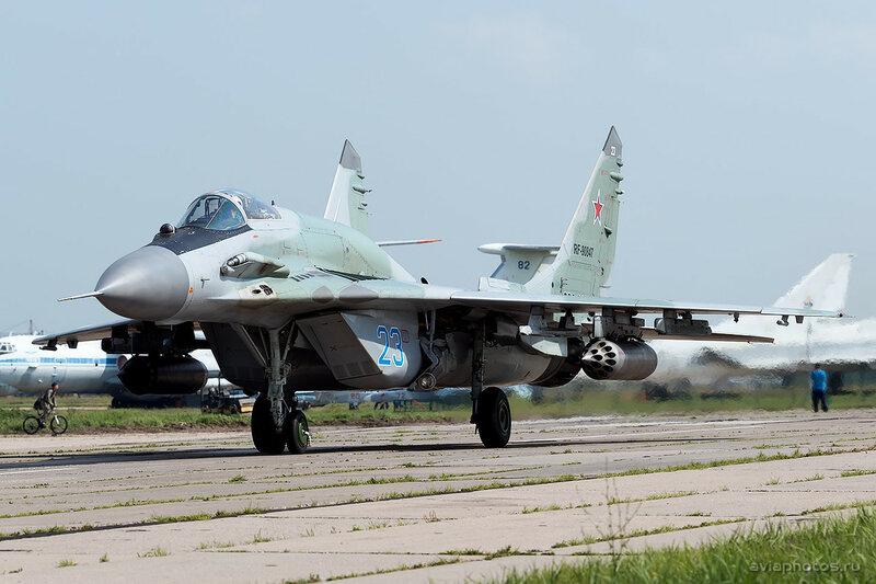 Микоян-Гуревич МиГ-29СМТ (RF-90847 / 23 синий) ВКС России 0130_D805508