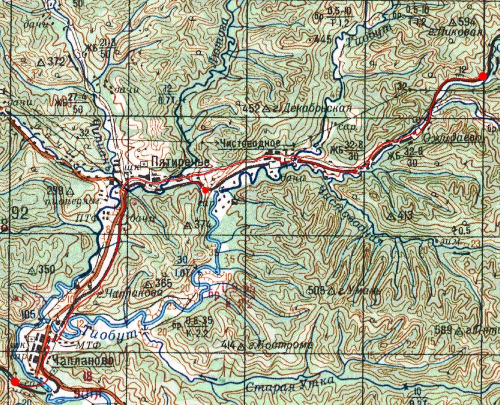 Карта маршрута 4 сентября