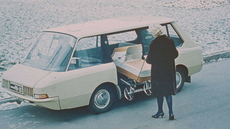 Experimental Soviet taxi, 1964 (by artists and constructors Y. Dolmatovsky, A. Olshanetsky, A. Chernyaev).jpg