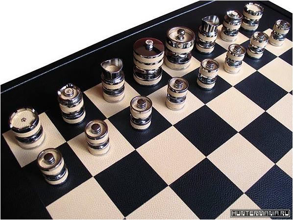 Эксклюзивные дорогие шахматы от Geoffrey Parker