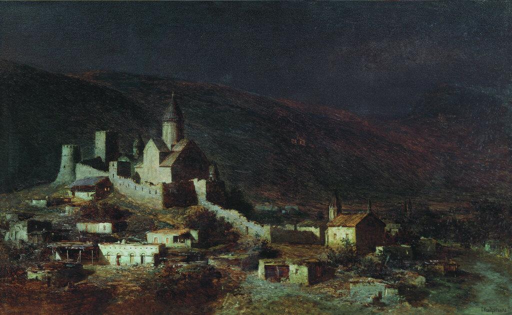 Ананур в Грузии. 1882