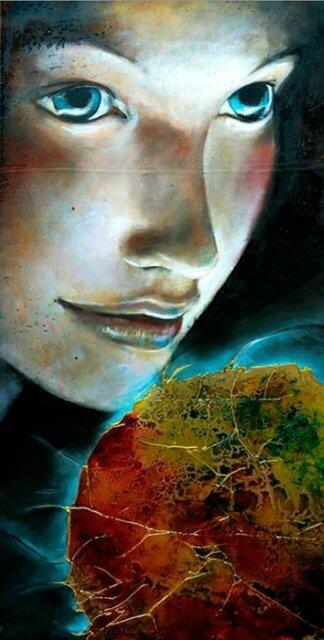 Итальянская художница Angela Betta Casale