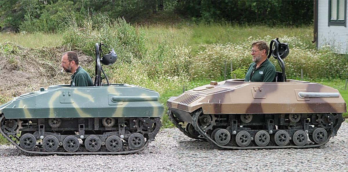 Фото приколы. Построили себе танки