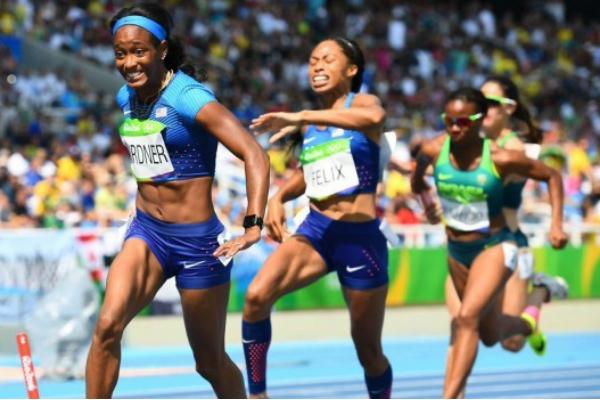 Американки попали вфинал Олимпиады вРио после «пересдачи» эстафеты