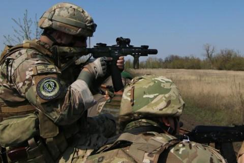 Вканун Нового года боевики не прекращают  обстреливать позиции ВСУ— Штаб АТО