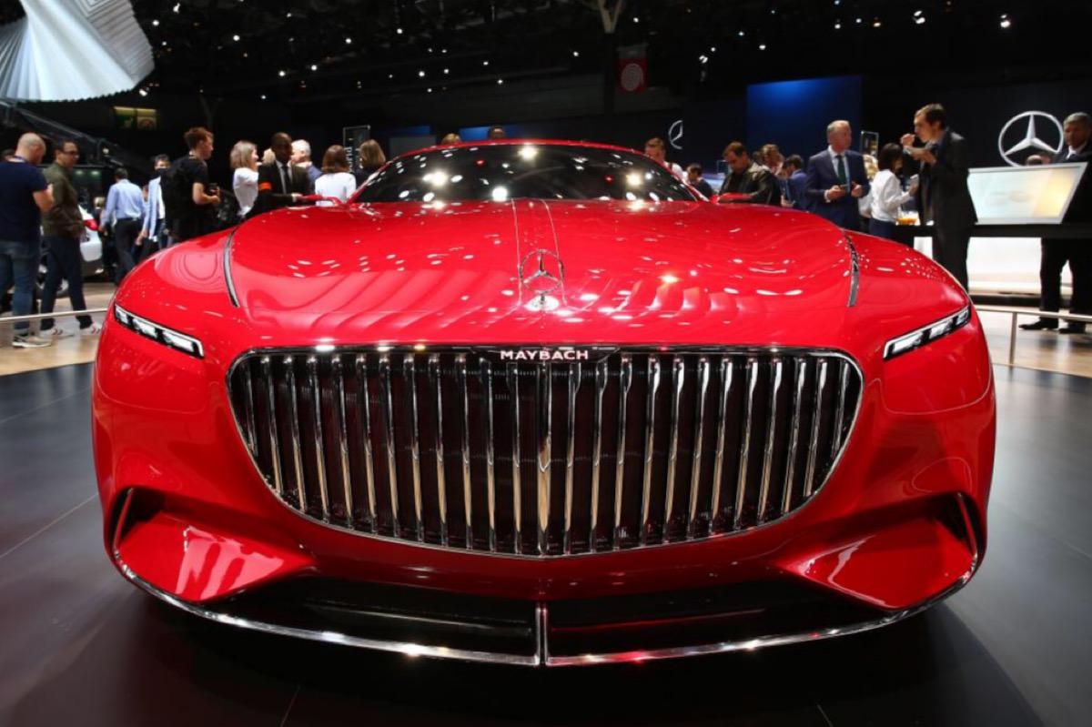 Mercedes готовит премиальный кроссовер семейства Maybach