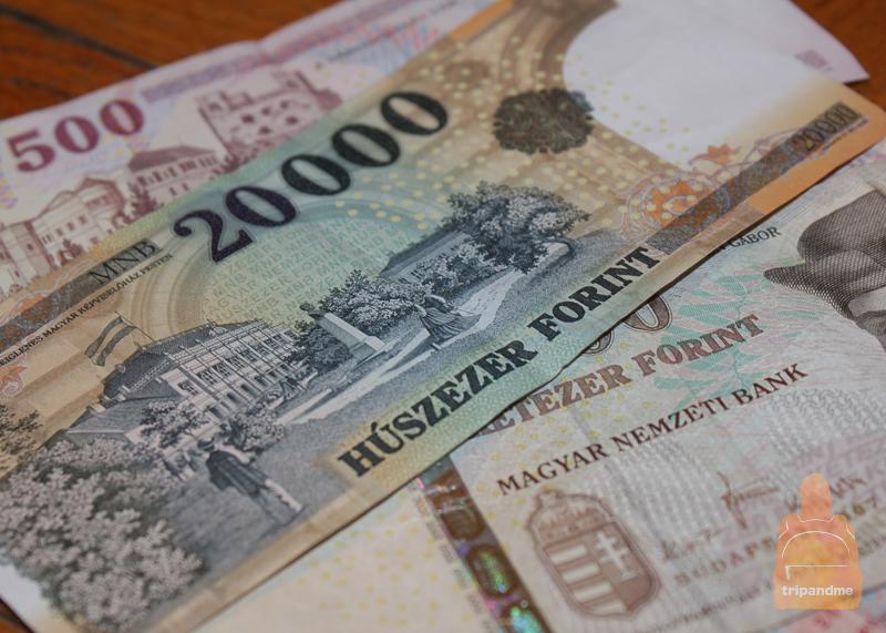Где менять деньги Будапешта