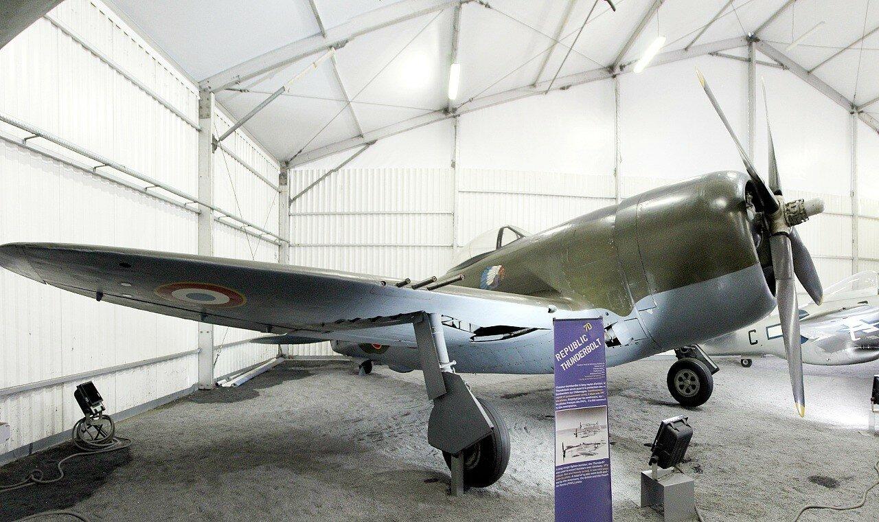 P-47D Thunderbolt (Le Bourget aviation Museum)