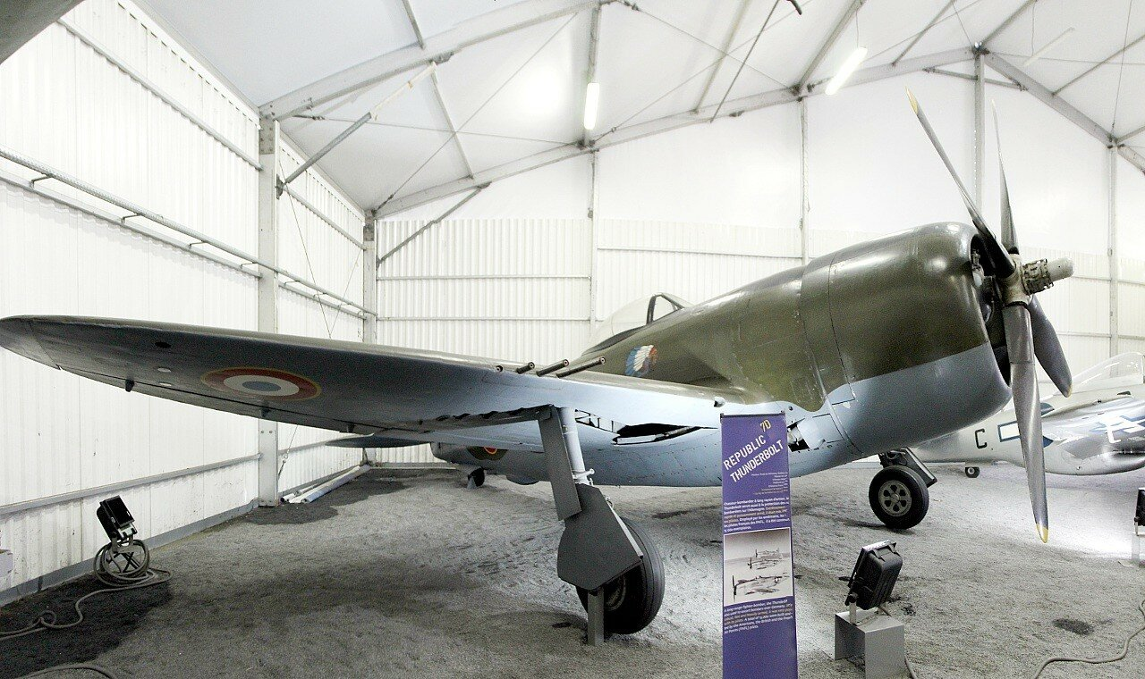 P-47D Thunderbolt (Музей авиации в Ле-Бурже)