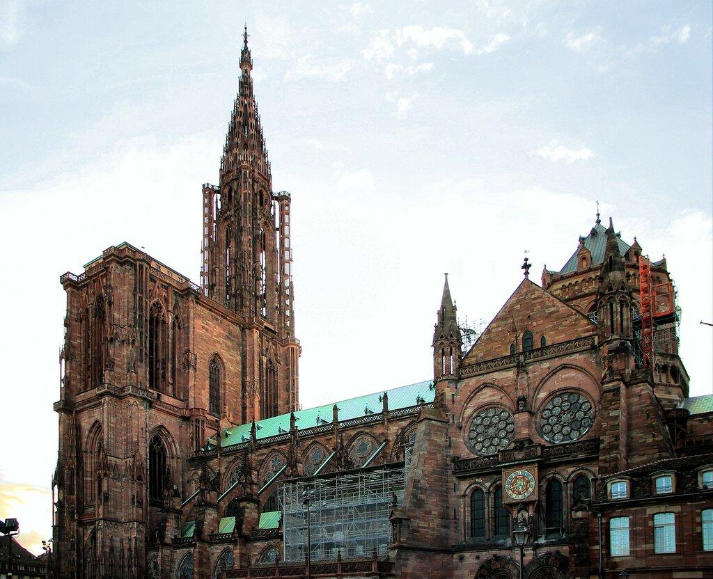 Страсбургский собр (Cathédrale Notre-Dame de Strasbourg)