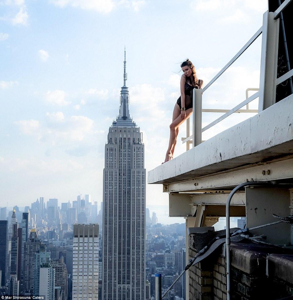 Мар побывал на 150-ти крышах Нью-Йорка в поисках идеального вида, но он уверен, что впереди его ждёт