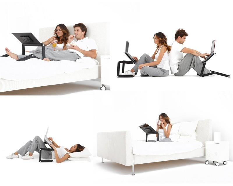 11. Подставка для ноутбука Функциональная подставка для ноутбука для удобного пользования в любом по