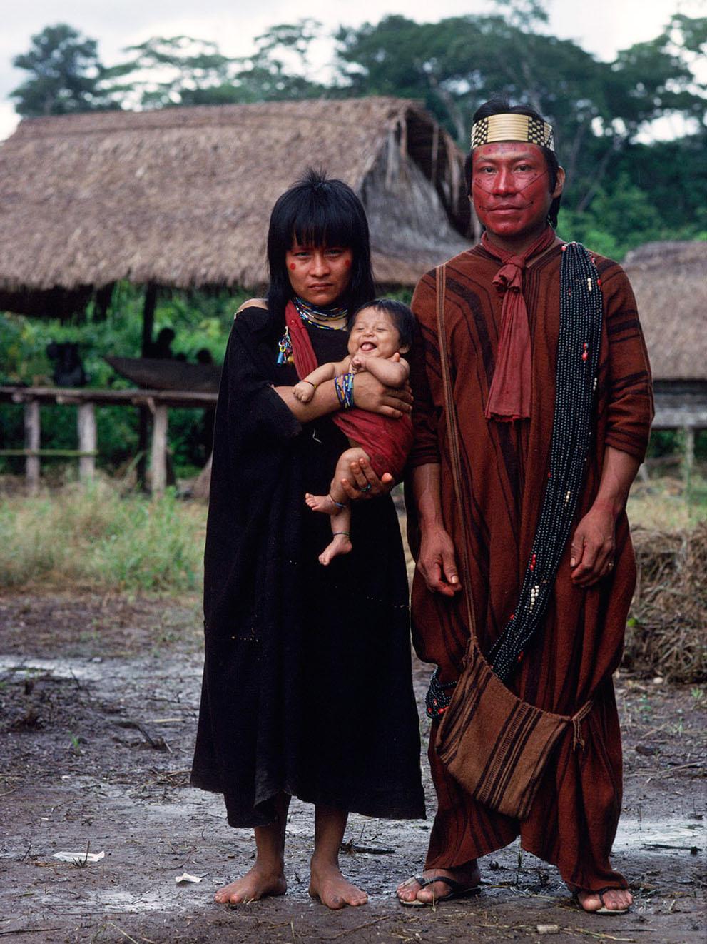 12. В 2011 году племена ашанинка в Бразилии и Перу объединились, чтобы выявить незаконных лесорубов.