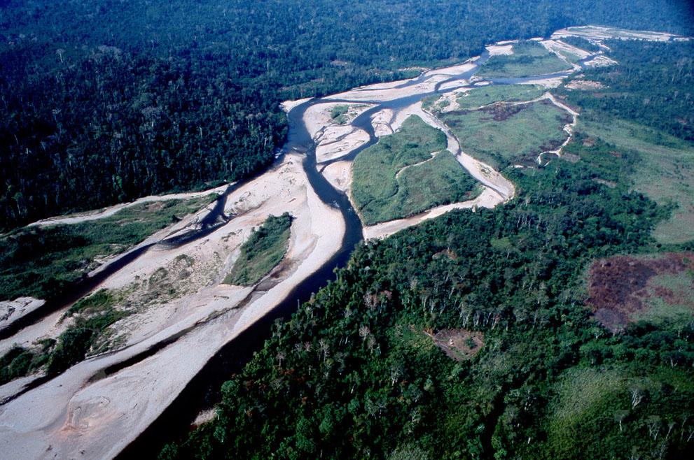 14. Река Ене в Перу. Здесь планируется строительство плотины. (© Angela Cumberbirch)