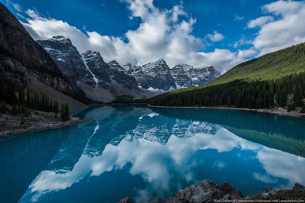 9. Красивый радиальный трек от озера Морейн — Consolation Lakes Trail.