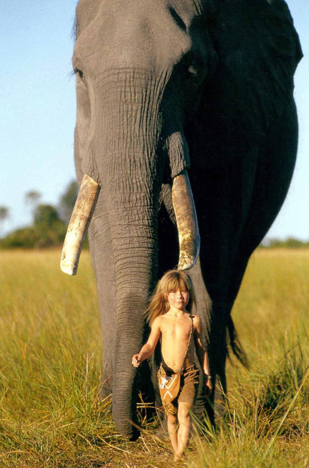 8. Позже Типпи переехала со своими родителями на Мадагаскар, а затем во Францию, где она и стал