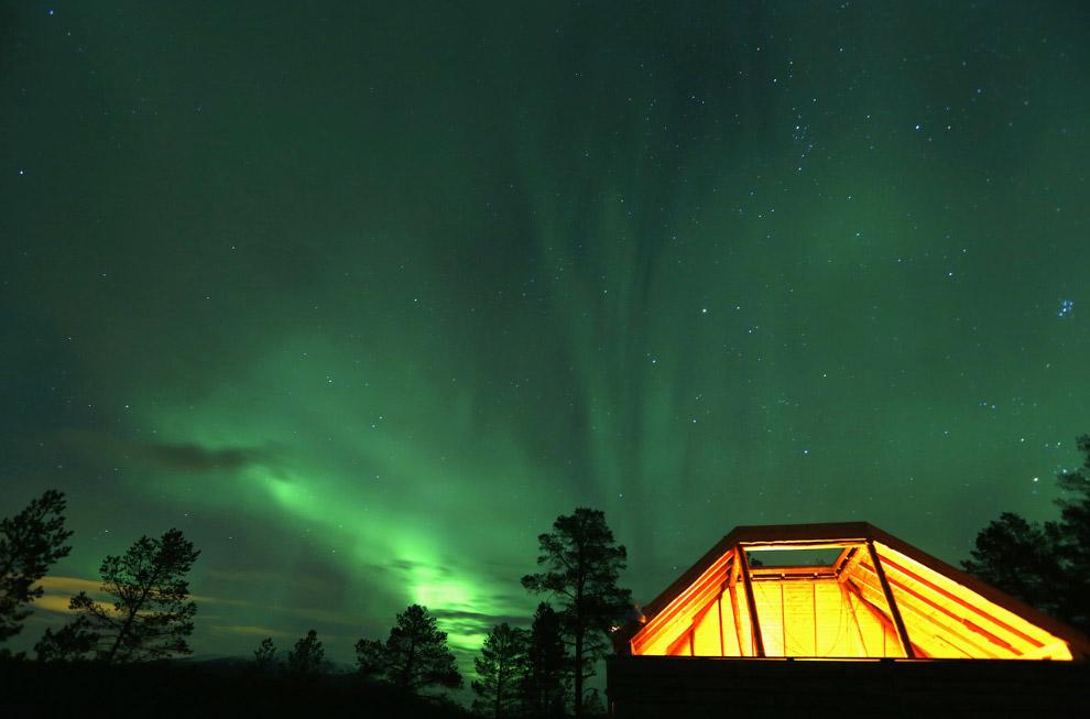 17. Озеро Nikkavatnet, Норвегия, 28 сентября 2014.