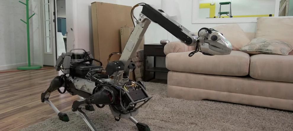 Весит робот 25 килограмм без
