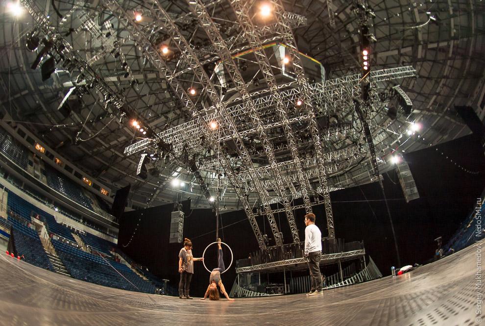 6. Костюмы Cirque du Soleil создаются индивидуально в монреальских мастерских. Там трудятся око