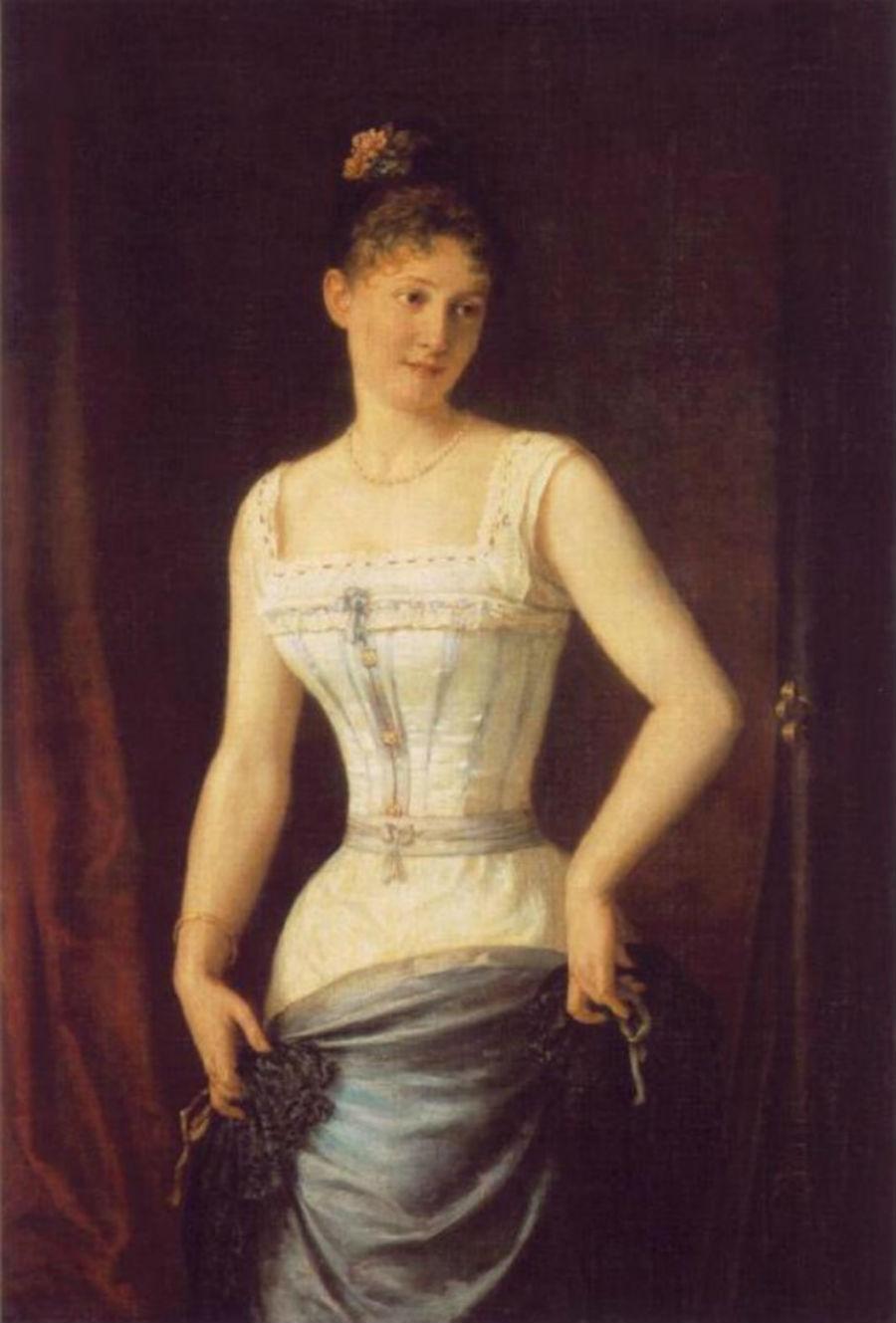 1900-е годы — чулки, панталоны, корсеты, нижняя юбка, блузка и вторая юбка — все это надевалось под