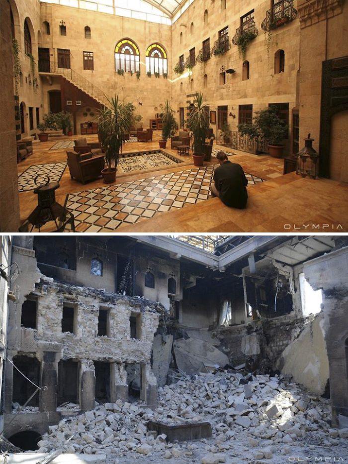 15 фото о том, во что война превратила крупнейший город Сирии