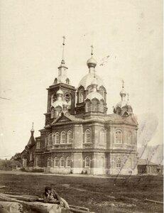 Церковь Покрова Пресвятой Богородицы за р. Черемухой. 1869