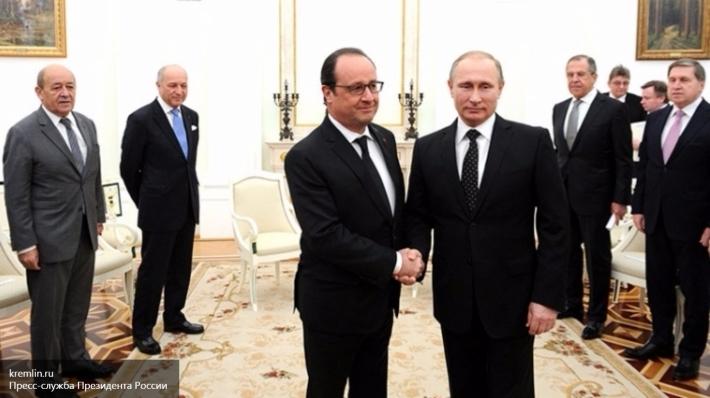 Руководитель МИД Франции предсказывает беспокойную встречу В. Путина иОлланда