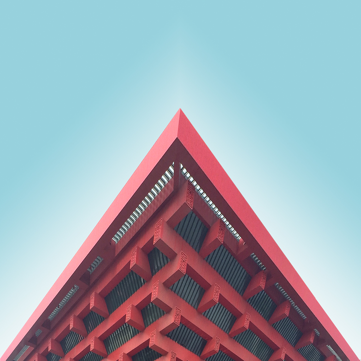 Shapes of Iconic China's Architecture