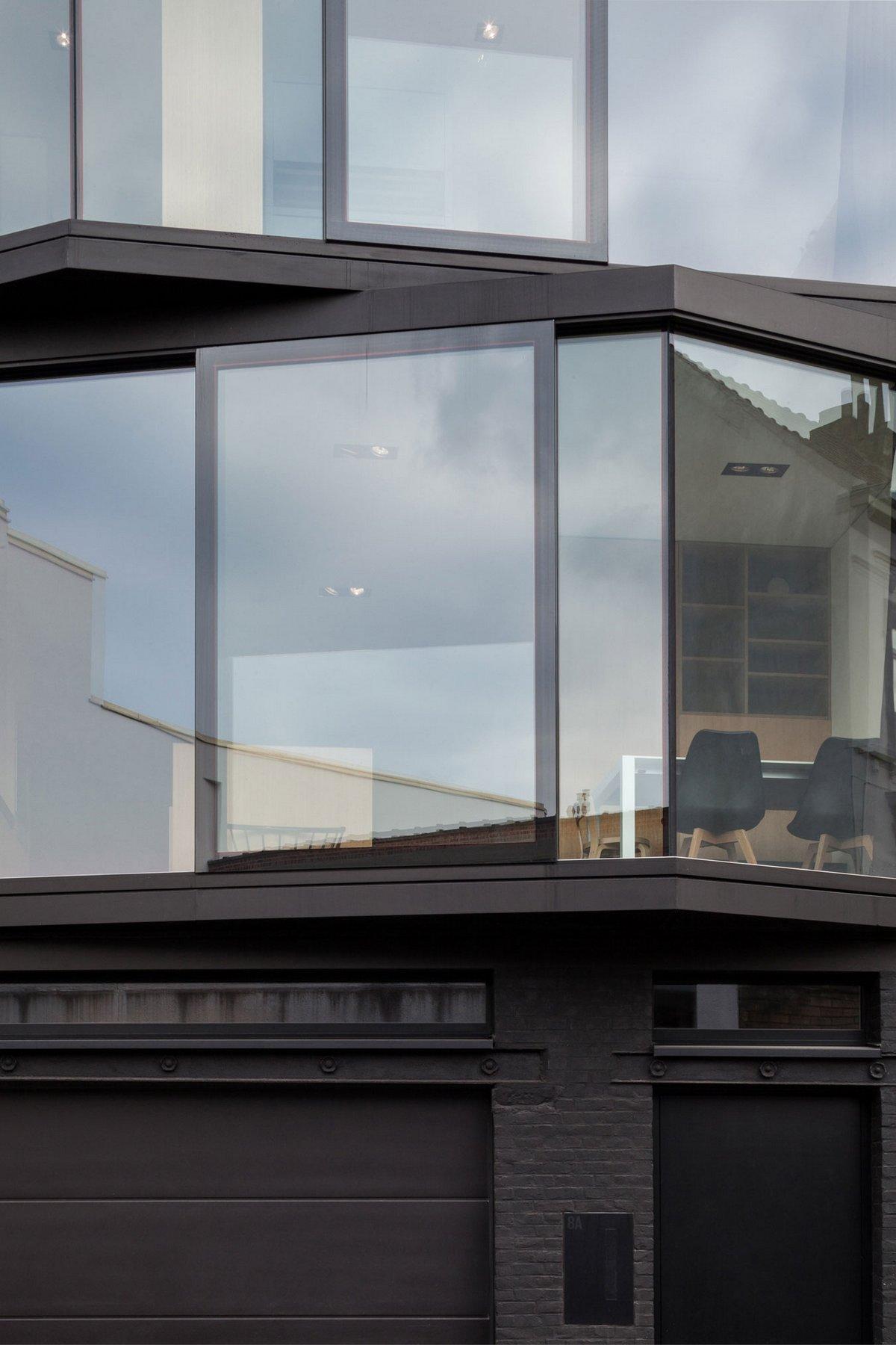 4-этажный дом с панорамными окнами
