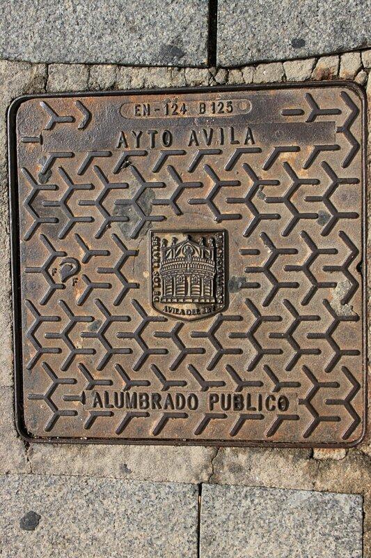 Люк в Авиле, Испания (Hatch in Ávila, Spain)