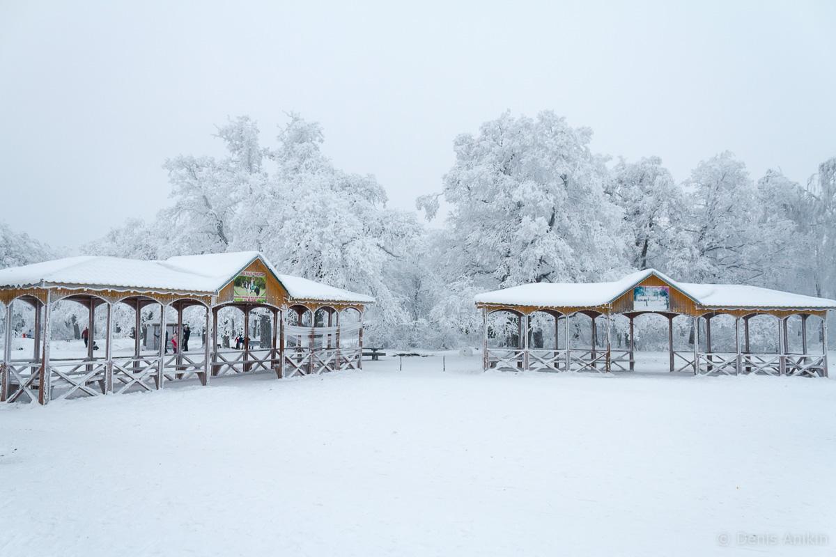 Кумысная поляна зима фото 1