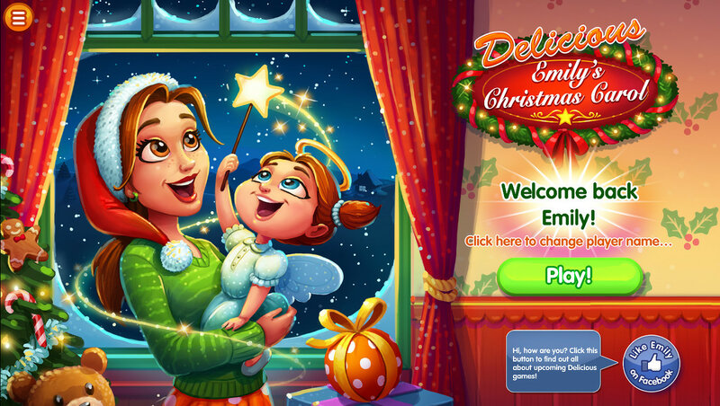 Delicious: Emilys Christmas Carol PE