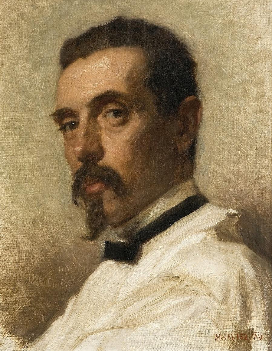 1873_Художник Винсент Полеро Толедо (El pintor Vicente Polero Toledo)_39.5 х 31.3_х.,м._Мадрид, музей Прадо.jpg