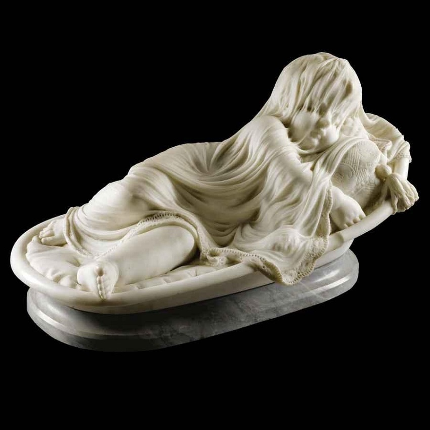 Giovanni Battista Lombardi SLEEPING CHILD, 1870.Jpeg