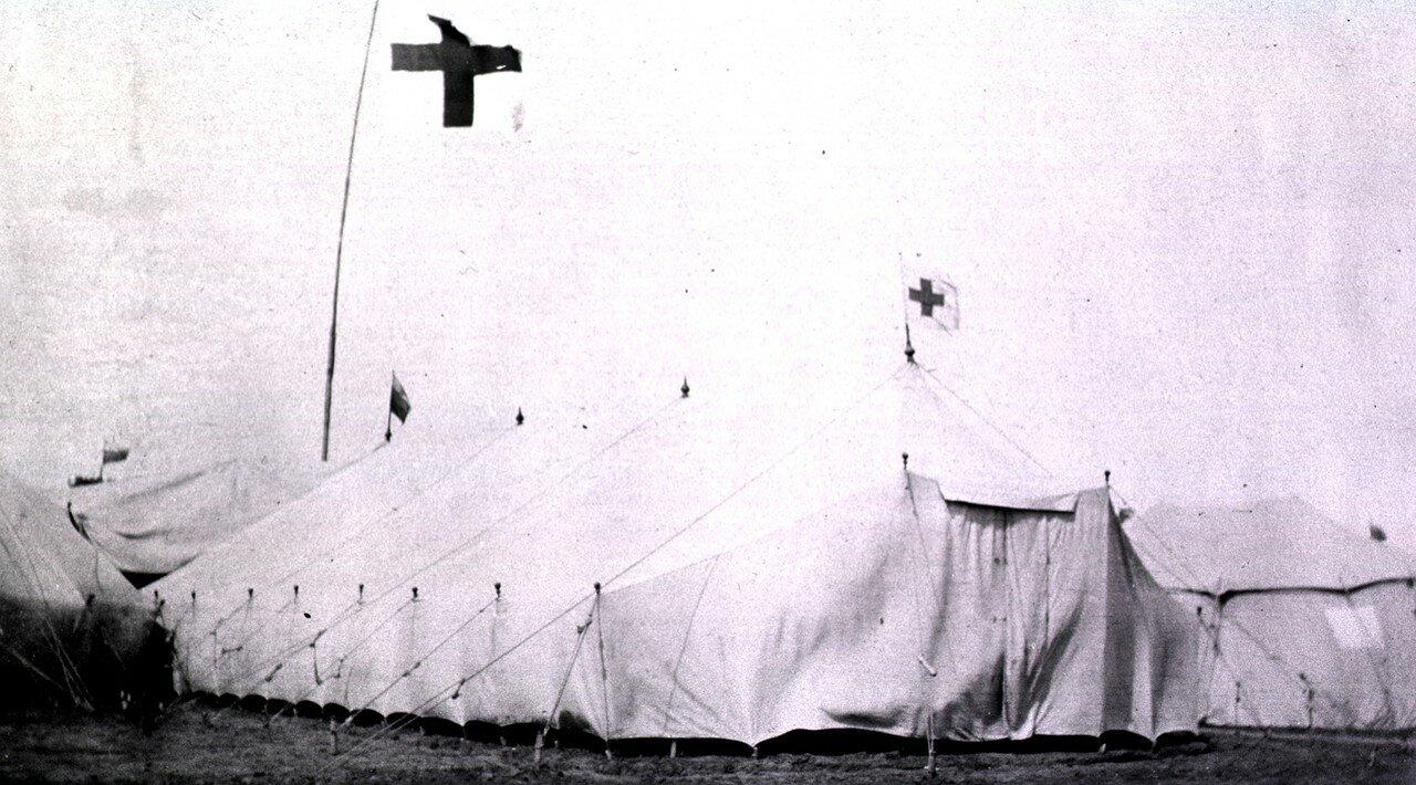Петербургская палатка. Гангалин